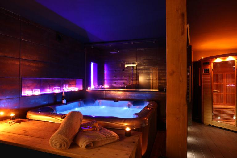 Les équipements du spa privatif